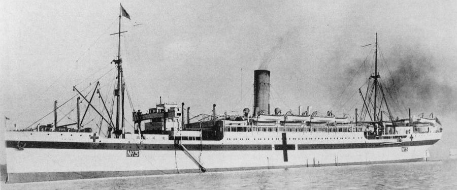Hospital ship SS Drina