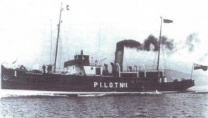 Liverpool pilot cutter Alfred H Read sunk by a mine laid by UC75