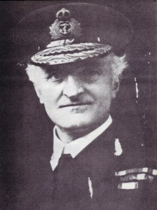 Admiral Hall. Head of British Naval Intelligence WW1