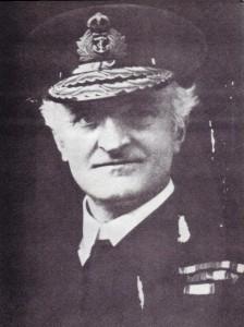 Admiral Hall. Head of British Naval Intelligence WW1