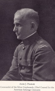 Amos Peaslee played an imprtant role in prosecuting Post WW1 claims against Germany