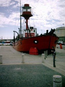The replacement Guillemot, renamed Conninbeg, as museum in Kilmore Quay.