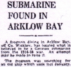 Arklow Sub news