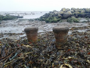 Ships Bollards (Ceres?) at Port Carnagh harbour, Carnsore Point