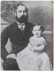 Dr Robert Heard and his son who suvide the wrecks of the Ceres. (Courtesy of 'Coastguard of Yesteryear' and  Helen Skrine.)