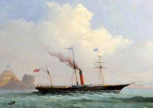 Similar ship to the Ondine and Ceres