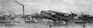 Ceres & Ondine steamships built at Smiths Yard, on the Clyde 1852