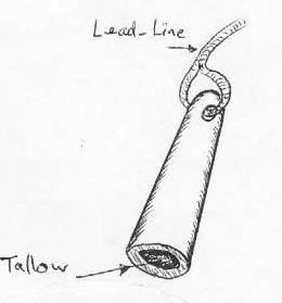 A sounding lead